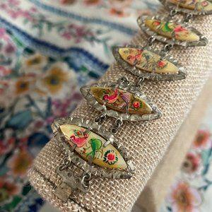 Persian Bracelet - Hand Painted (Vintage)